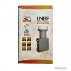 Lnbf Universal Banda Ku Quadruplo C/ Filtro Wi Max Mxt